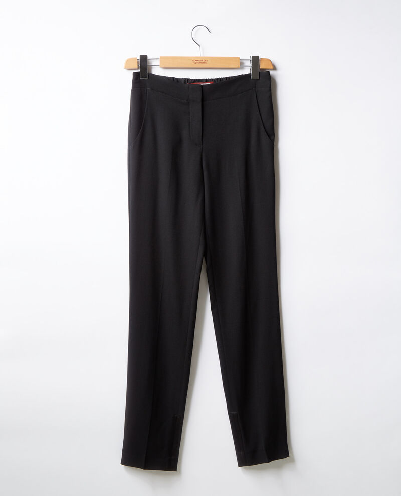 Pleated trousers Noir Futil