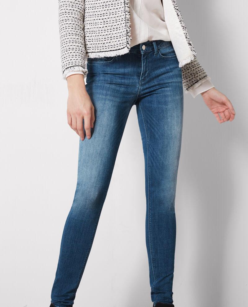 Jolie chérie skinny jeans Surf blue Cabou