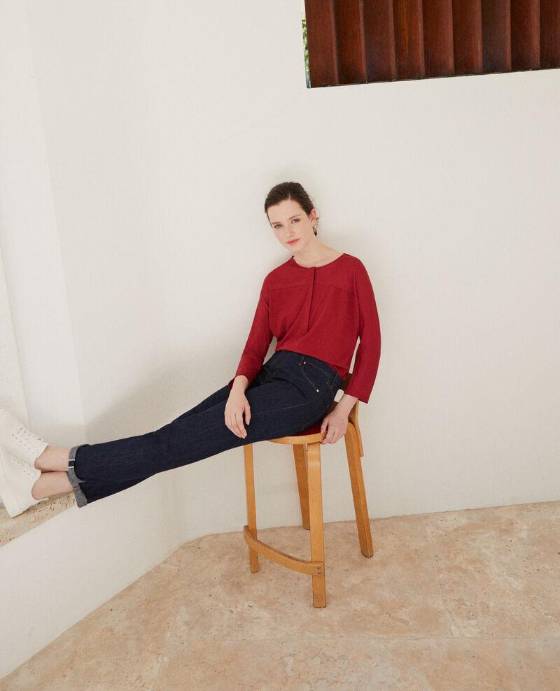 Fabric blend t-shirt RIO RED