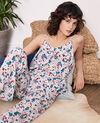 Silk jumpsuit Summer bloom rosebud Frac
