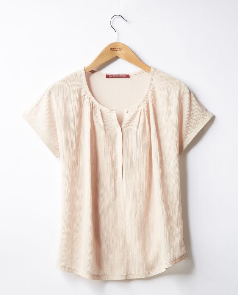 Bimaterial T-shirt Biscuit Fara