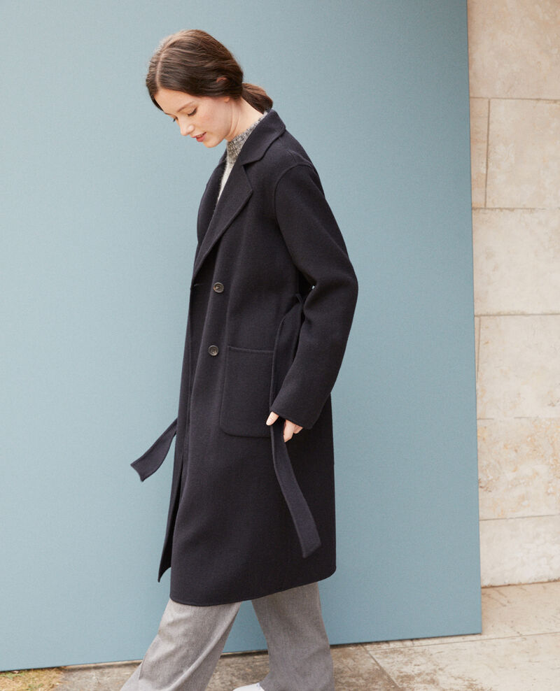 Double-sided coat NAVY