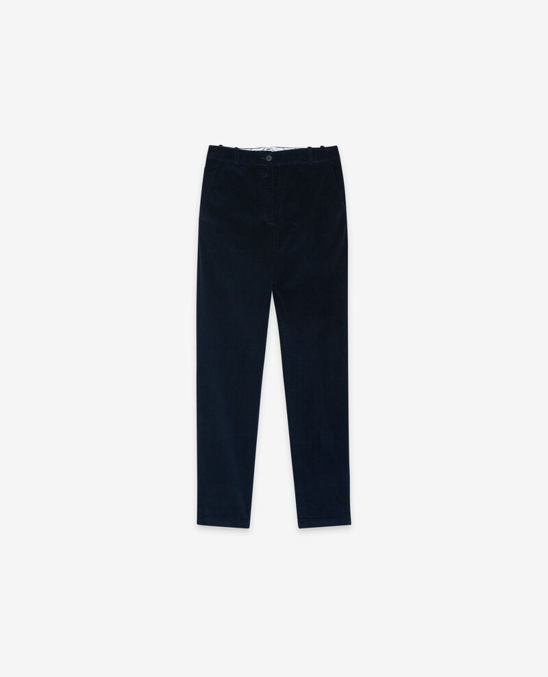 Corduroy trousers Navy Delours