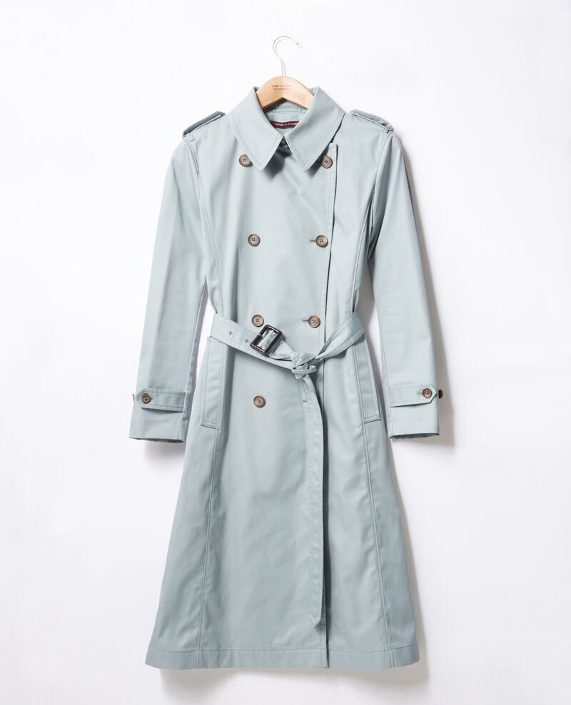 Trench coat SILVERGREEN