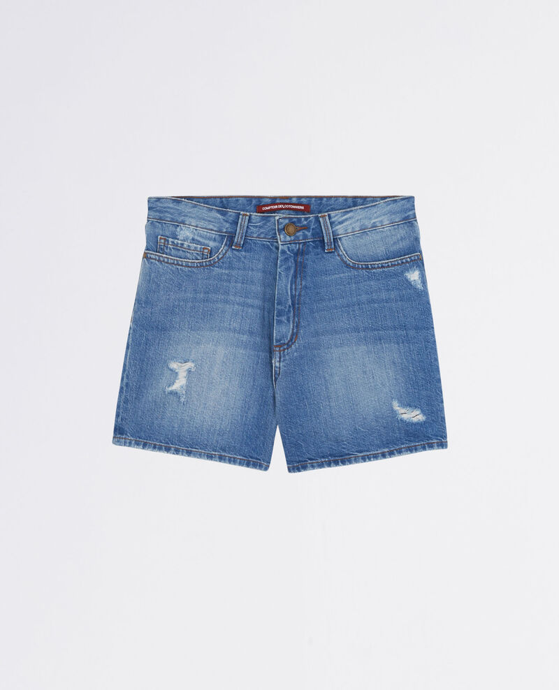Denim shorts Bleach blue Celebration