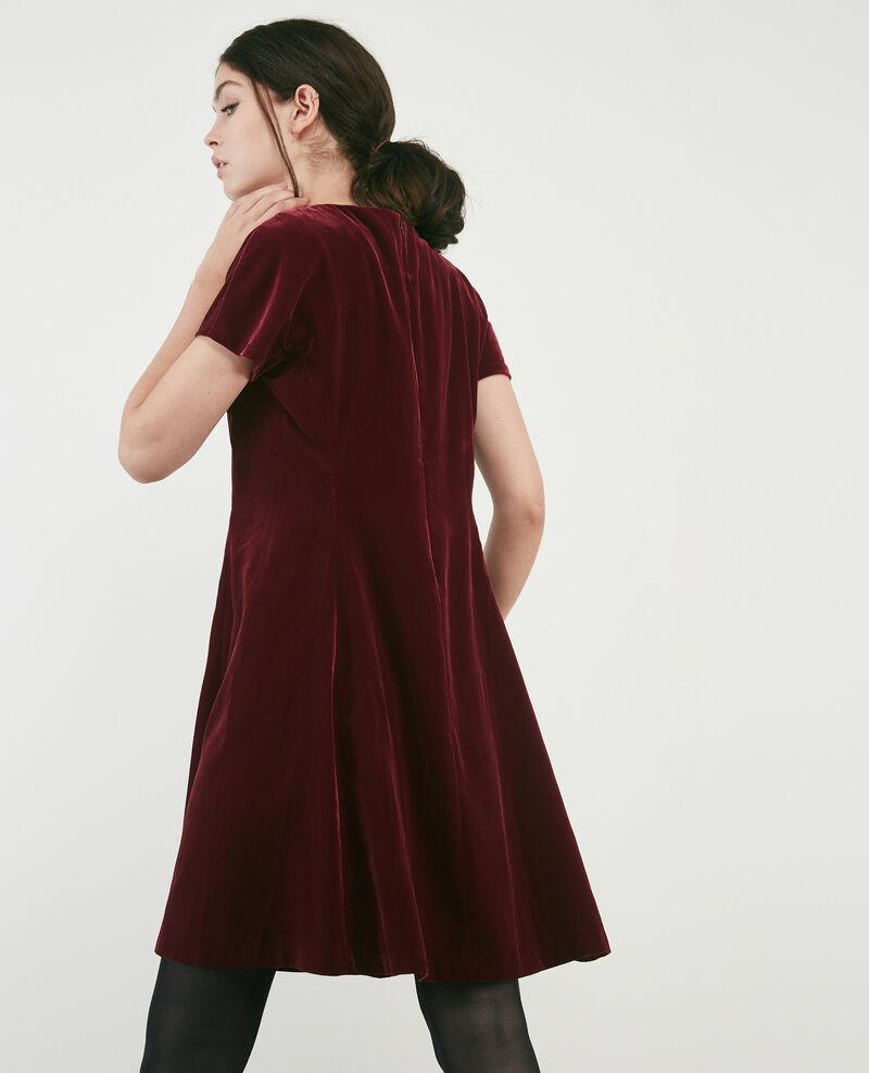 Velvet dress Burgundy Dress