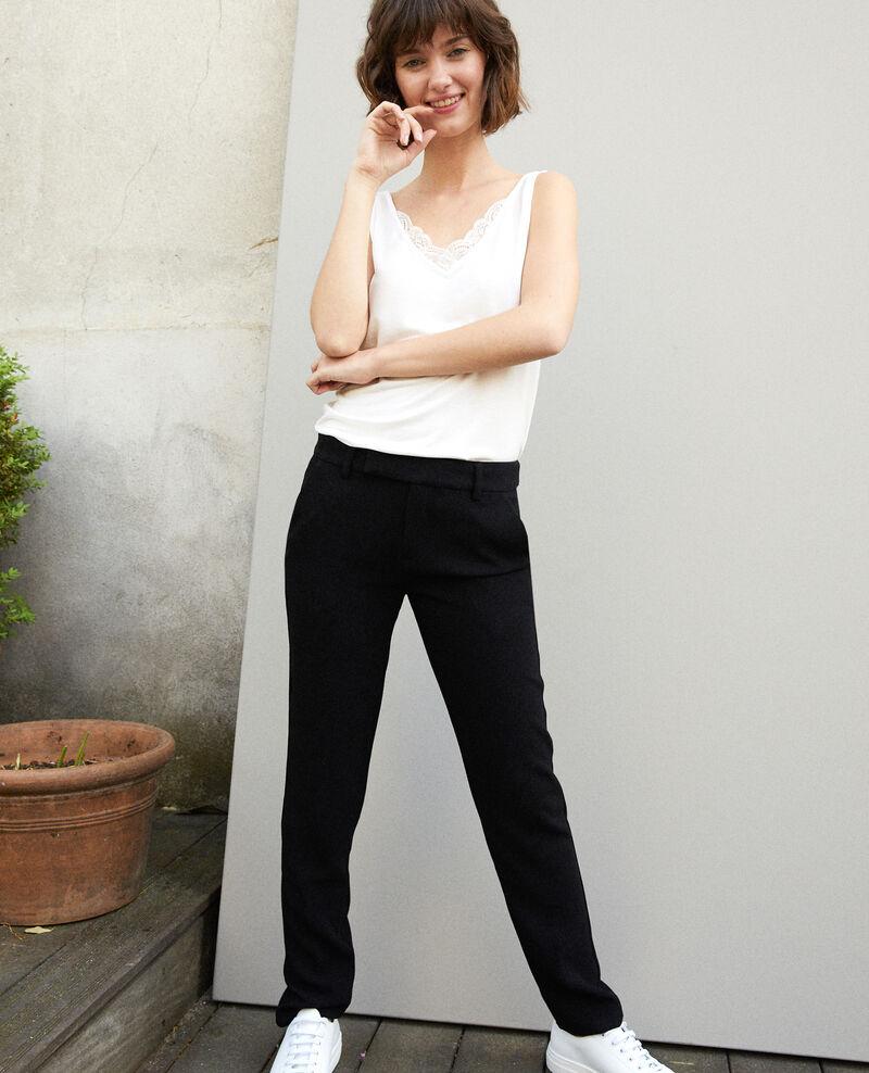 Suit-style trousers NOIR