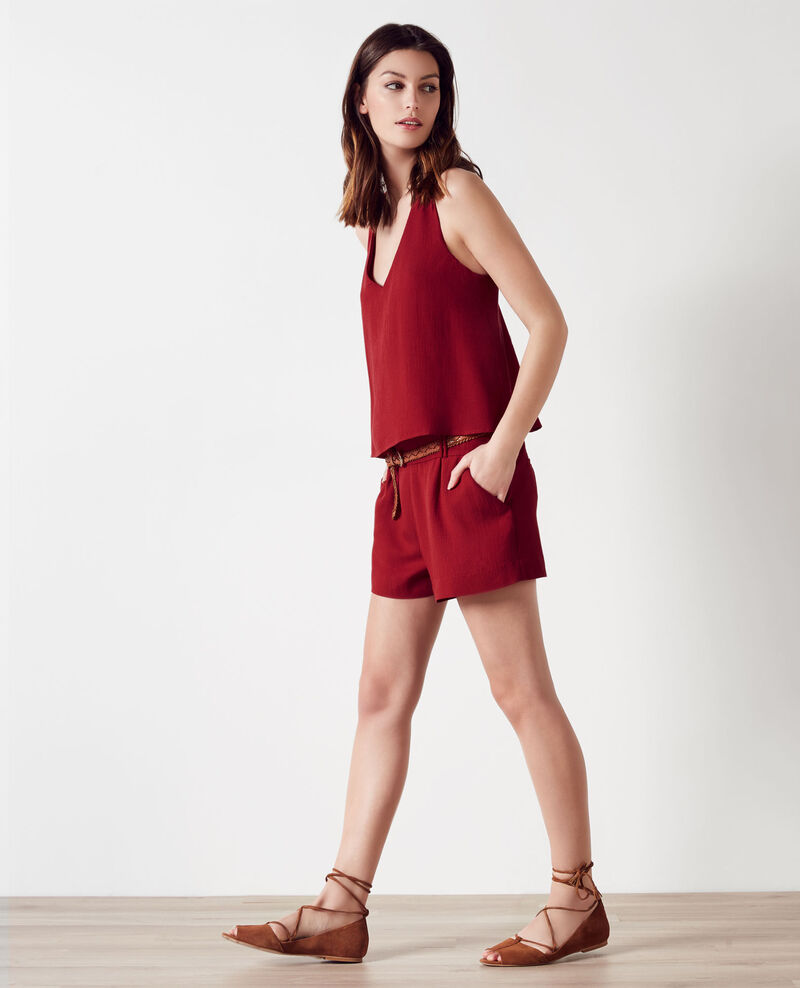 2-in-1 style playsuit Crimson Clementine