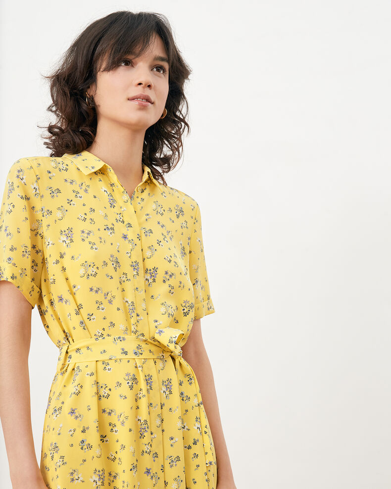 Printed dress Lillybell lemon Flashback