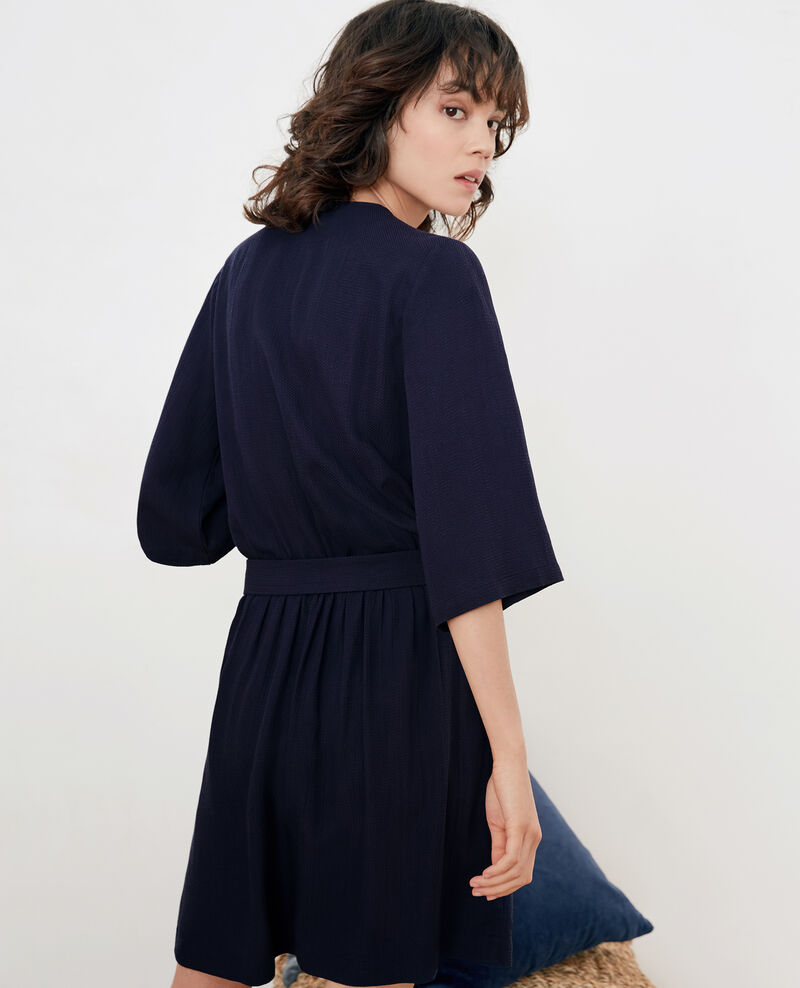 Dress with buckle Marine Faciner
