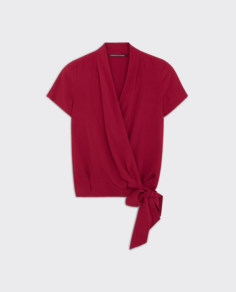 Wraparound top Crimson Cicoeur