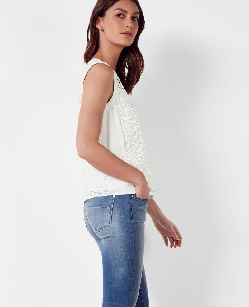 Lace top Off white Cambria