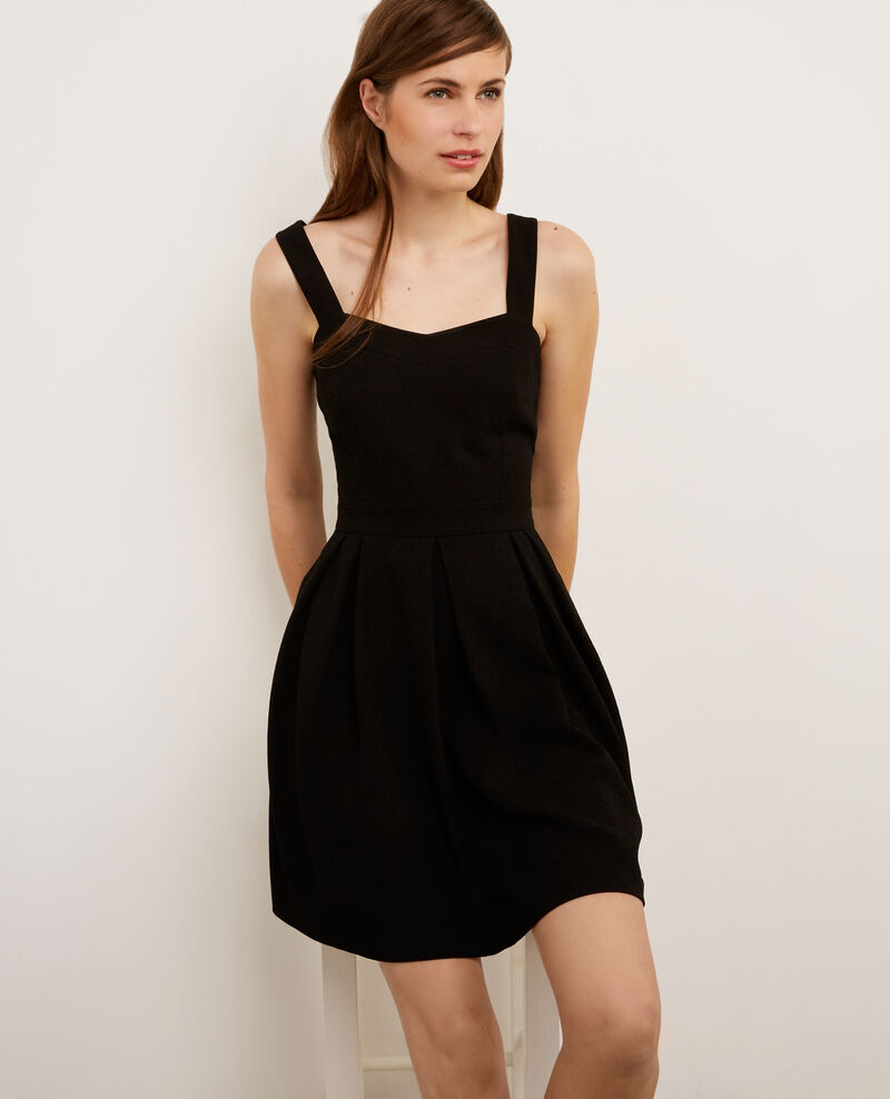 Sleeveless dress Noir Babisa