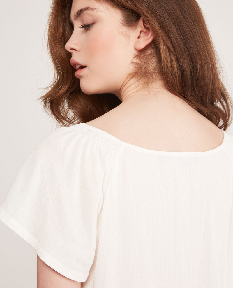 Lightweight blouse Off white Deal
