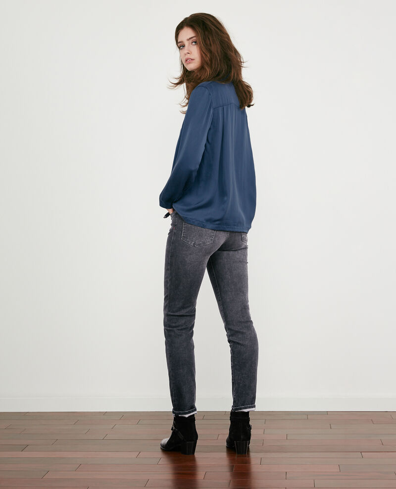 Cigarette jeans Dark grey Douvrir