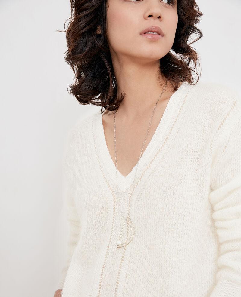 Fancy necklace, long model Silver Fibuline