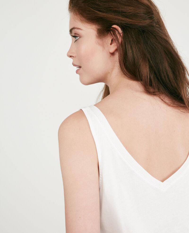 Top with lurex detail Off white 9deboncoeur
