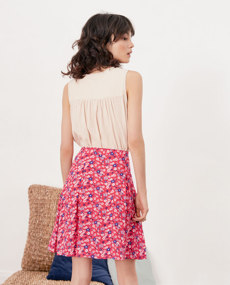 Skater skirt Honolulu ultra pink Fraicheur
