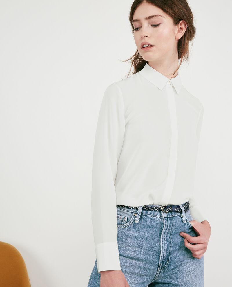 Classic silk shirt Off white Derta
