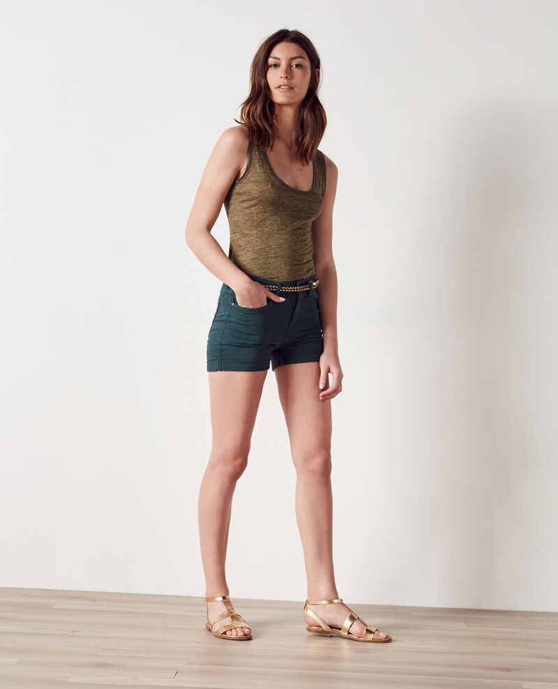 Shorts Jungle green Capricorne