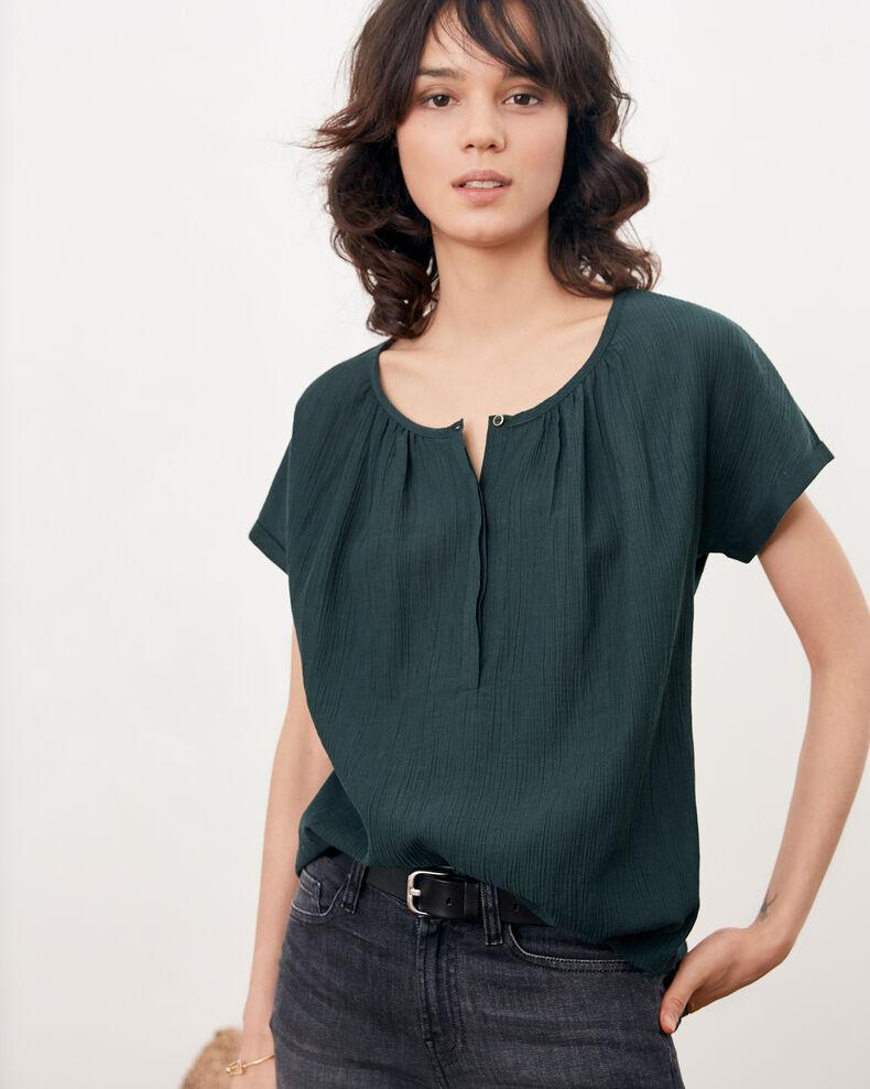 Bimaterial T-shirt CANOPY