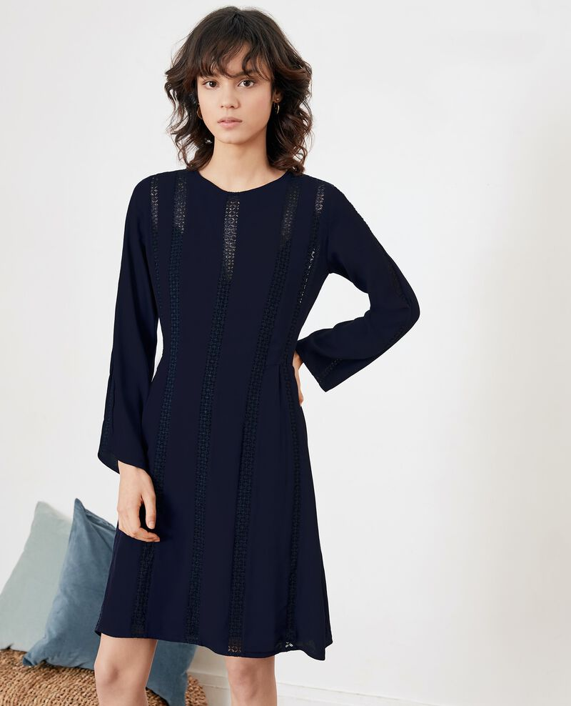 Dress with lace MARINE