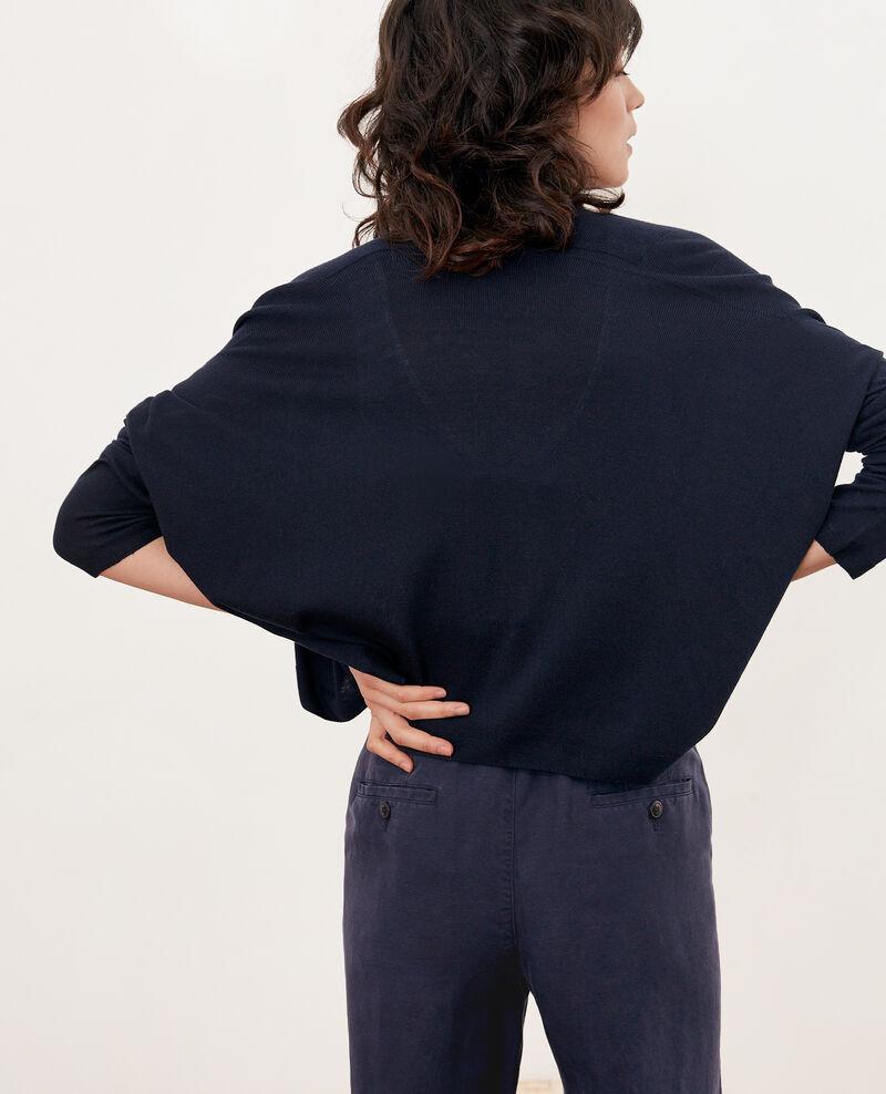 Short cardigan Marine Faufil