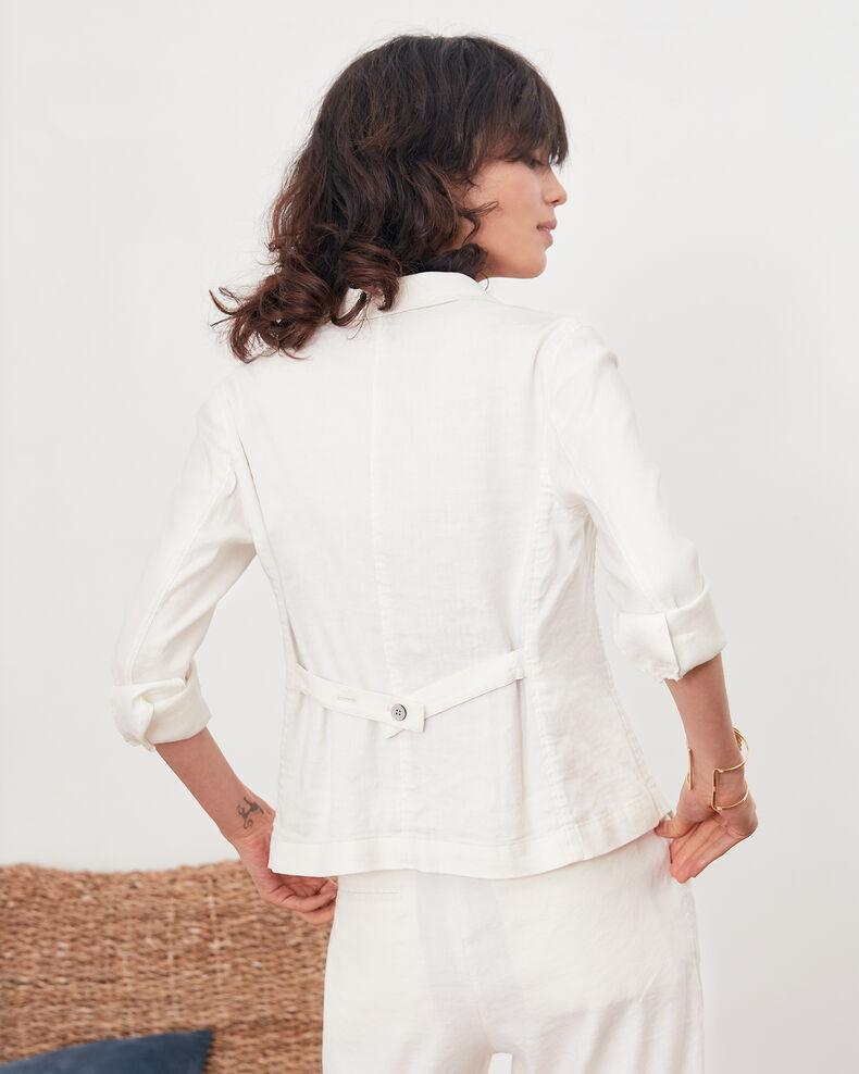Linen blend blazer Kaolin Finneley