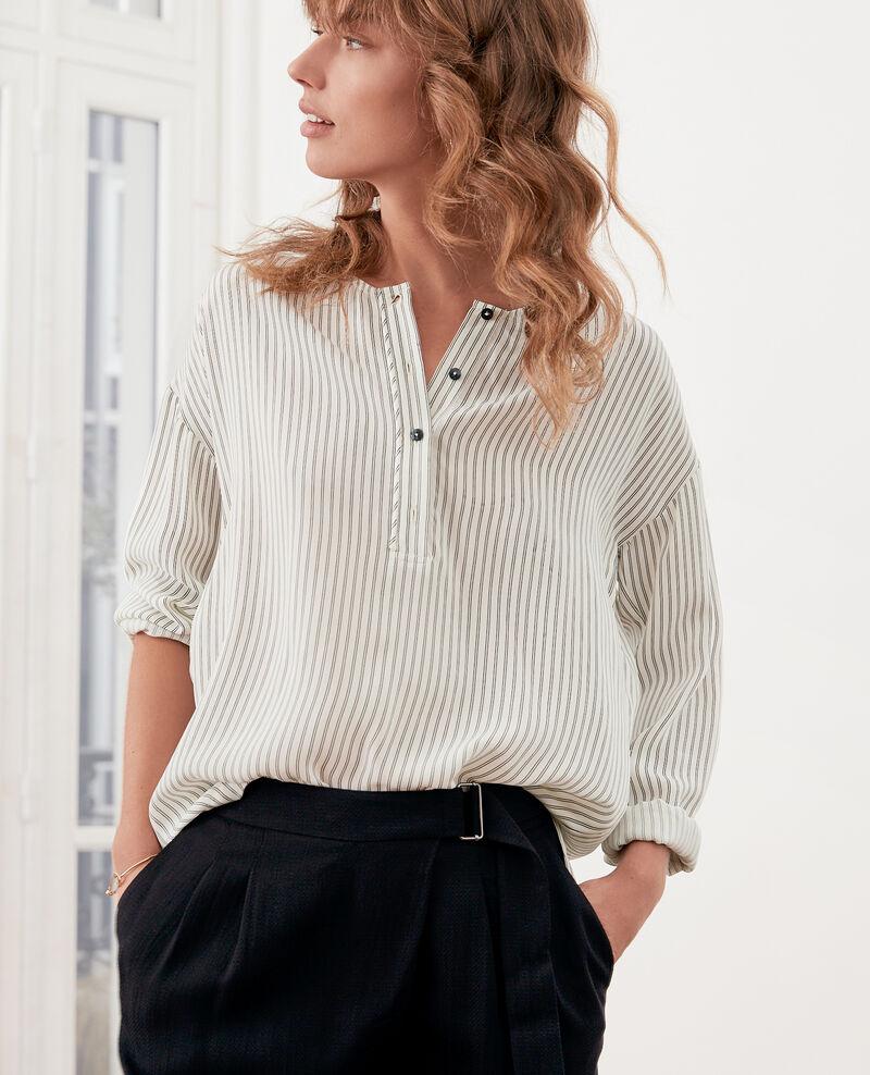 Striped blouse OFF WHITE/BLACK STRIPES
