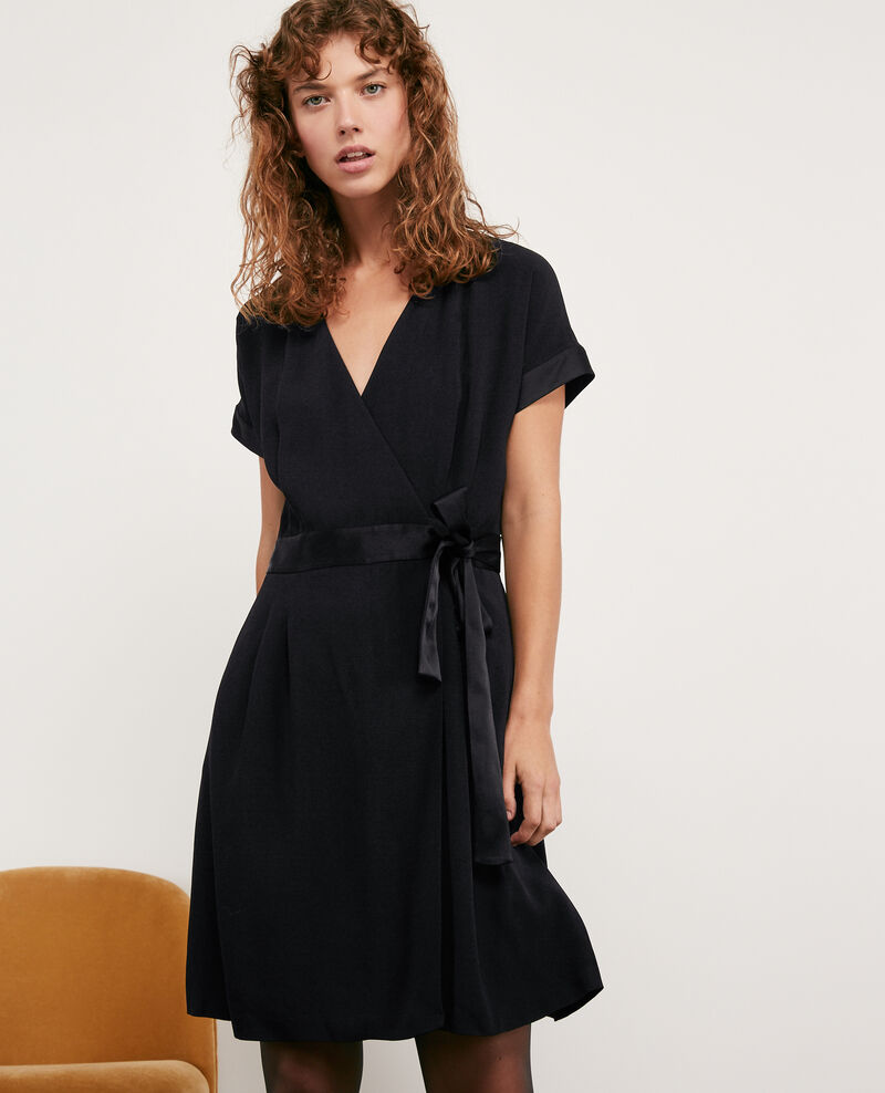 Wrapover dress NOIR