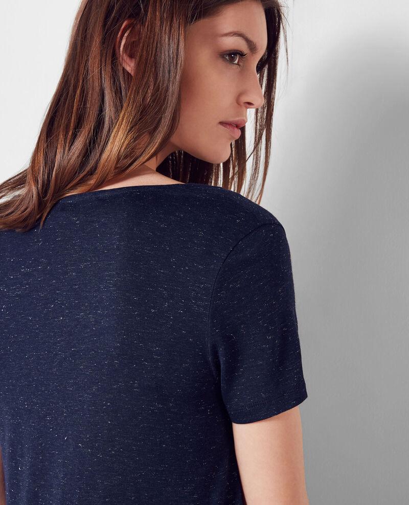 Sparkling T-Shirt Midnight blue Cygne