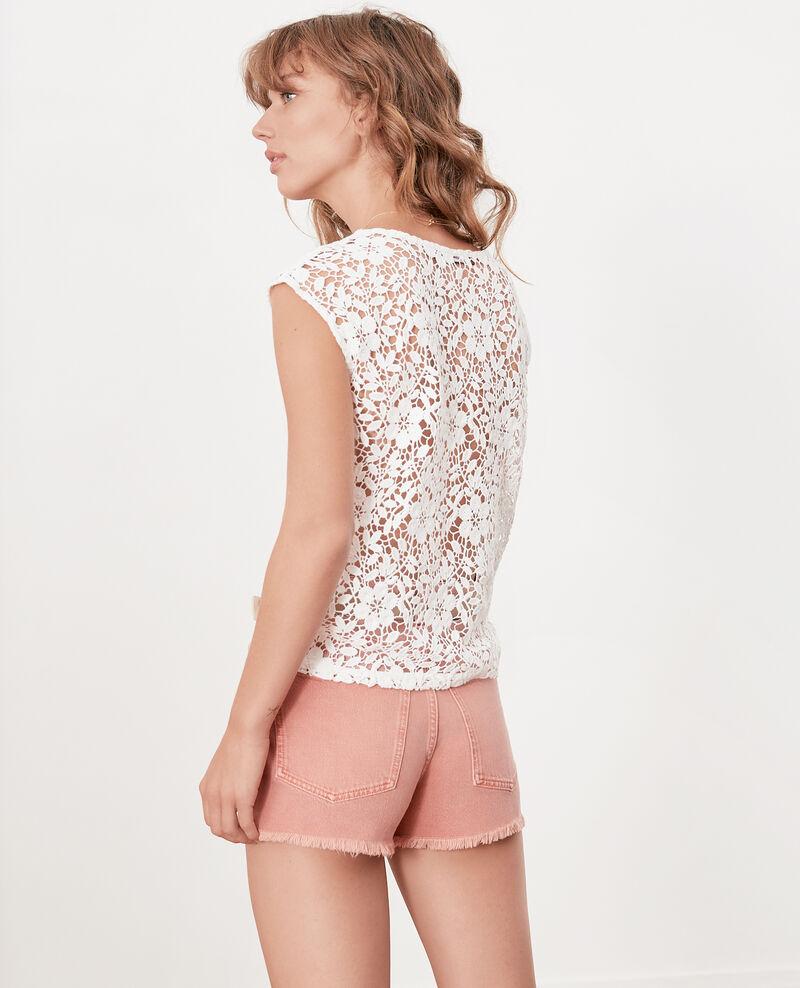 Fringed shorts Faded rose Fintashort