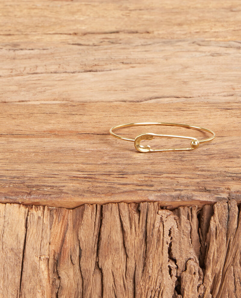 Safety pin bracelet GOLD