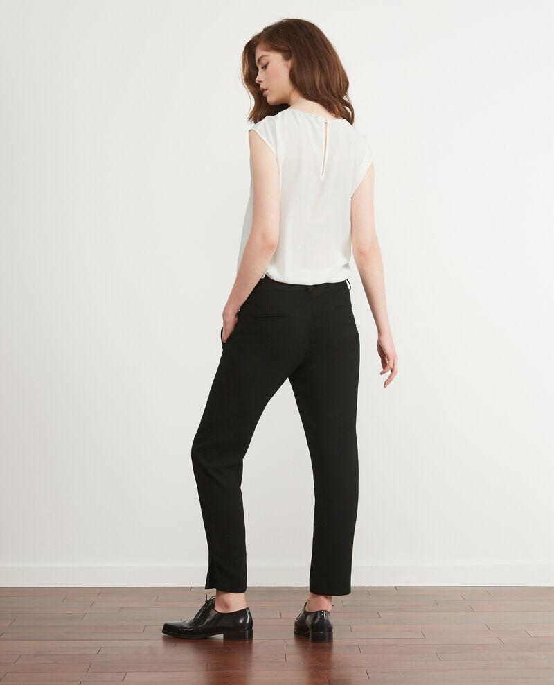 Officer's pants Noir Daniela