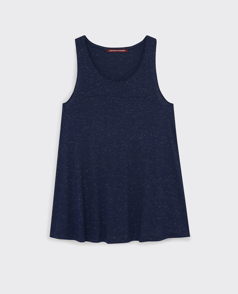 Sparkly tank top Midnight blue Cyclone