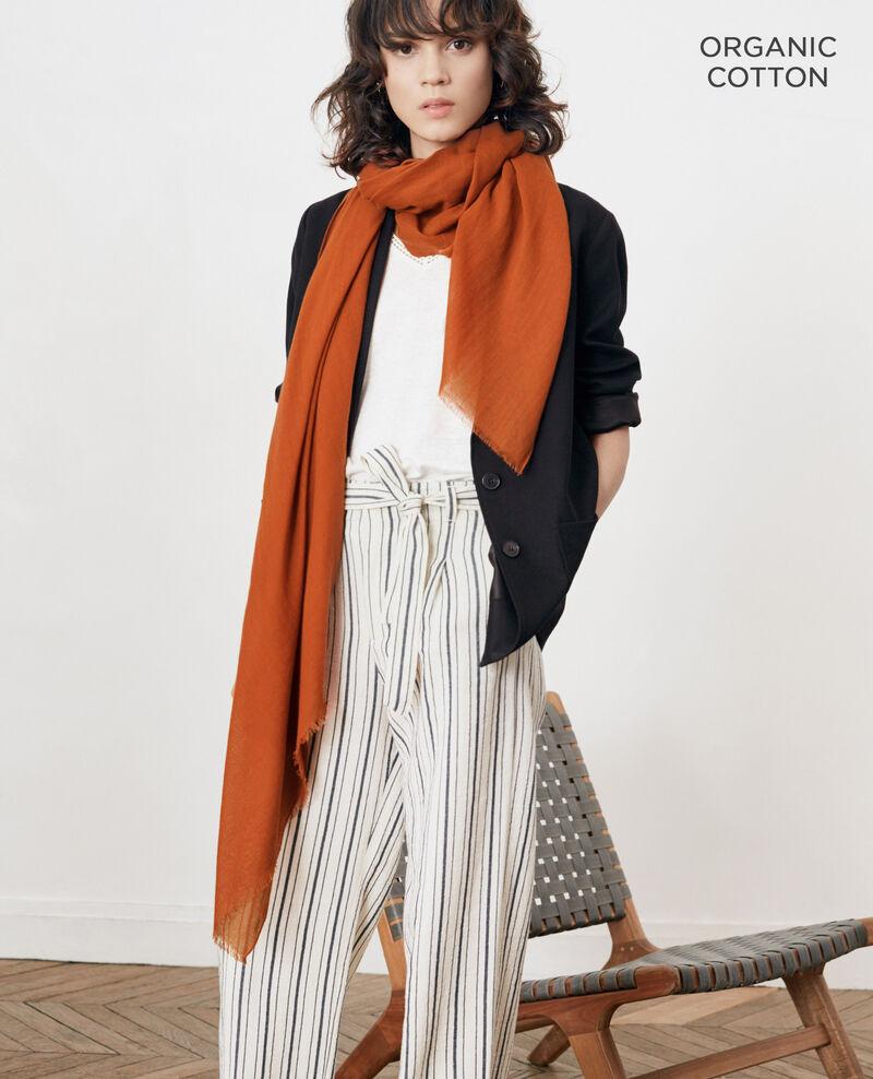 Cotton scarf Auburn Forga