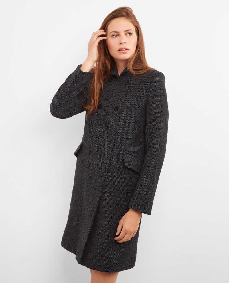 Tweed coat Tweed caviar Bacoat