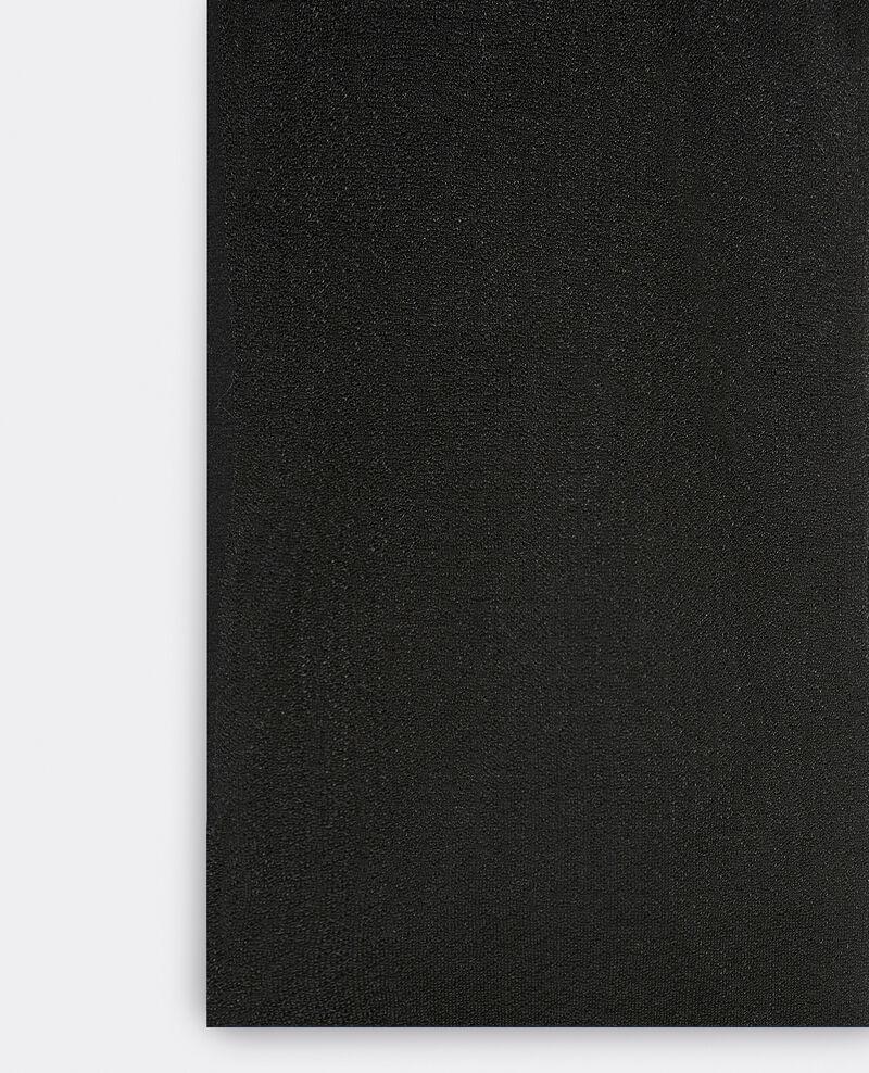 Novelty tights Noir Gambettine