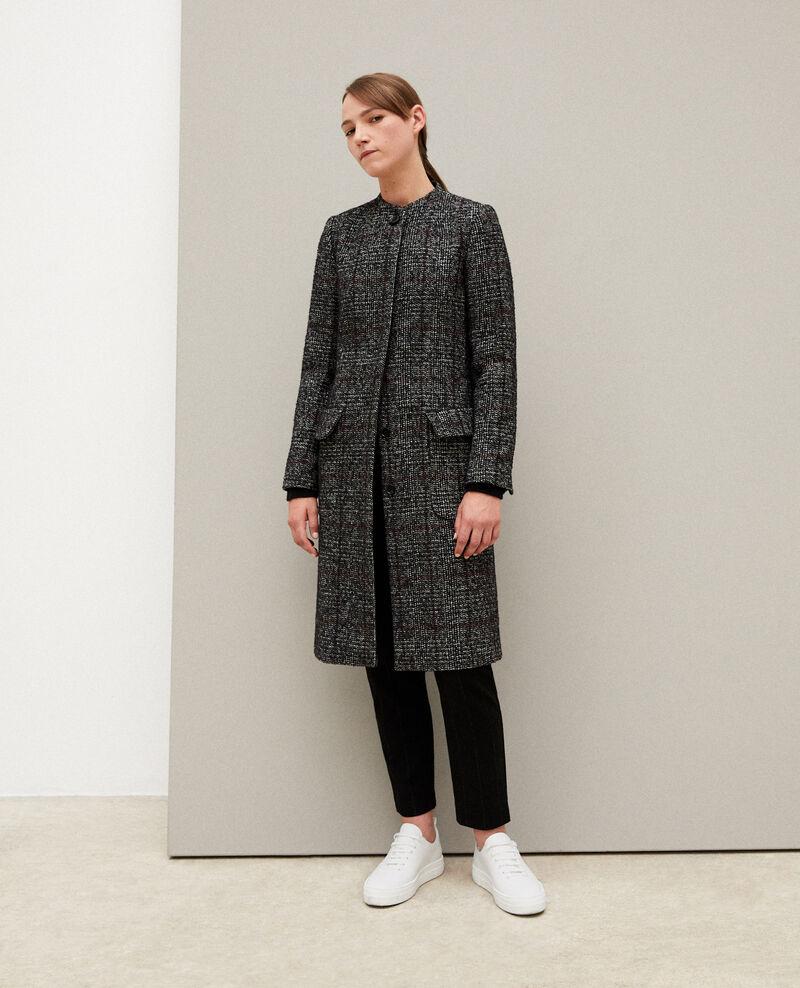 Straight fit coat NOIR