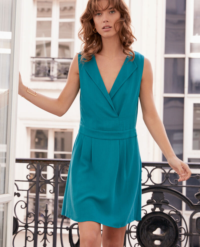Dress with low-cut back PACIFIC GREEN