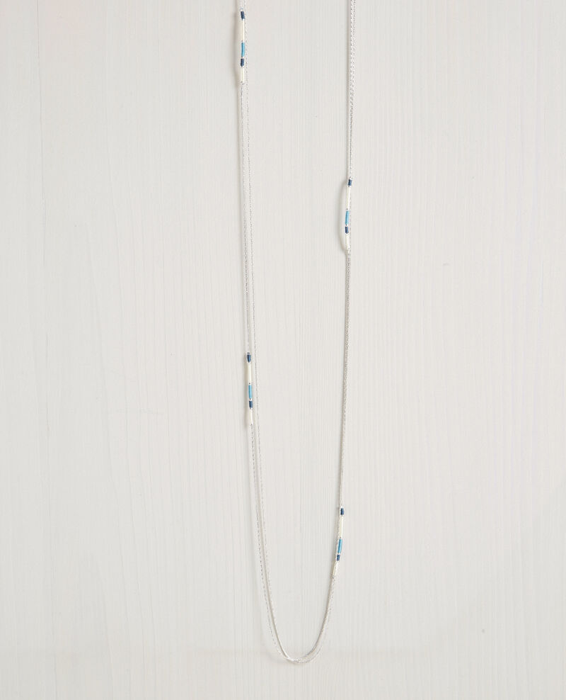 Double chain necklace Bondi blue Chapitre