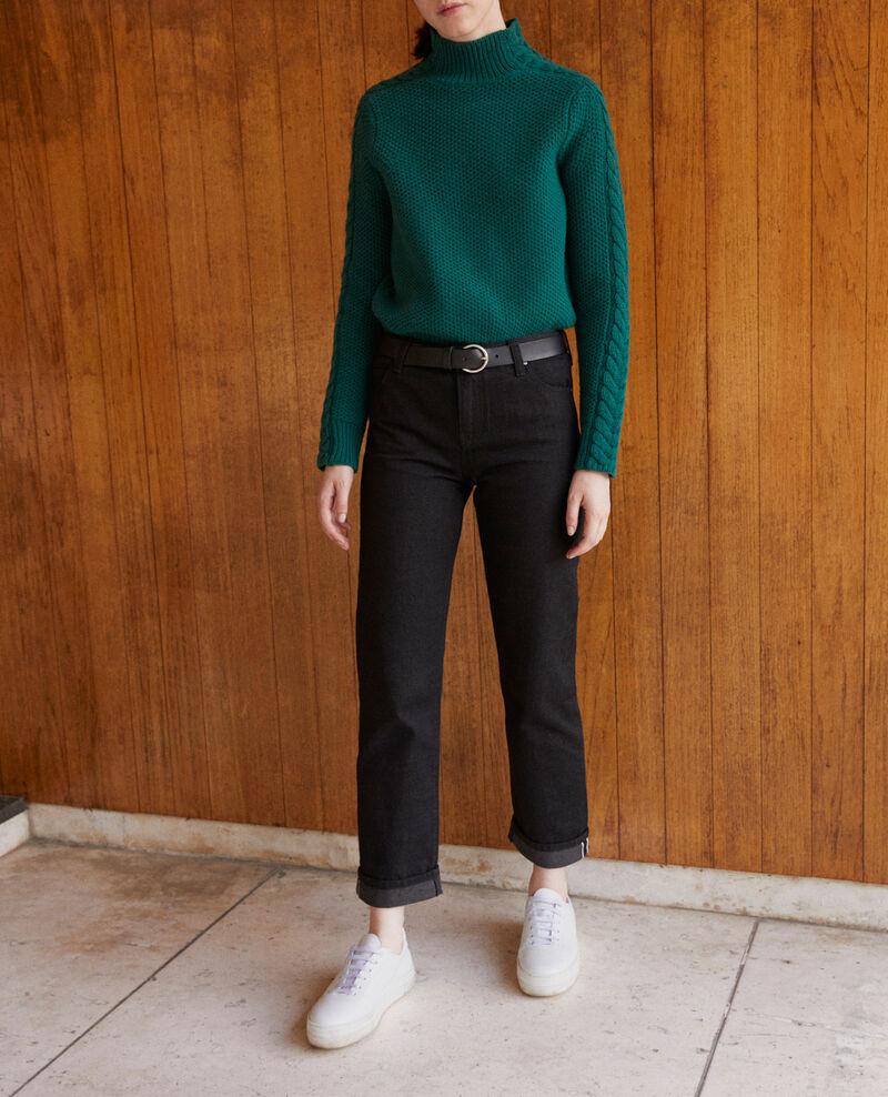 Real straight jeans Noir Goberta