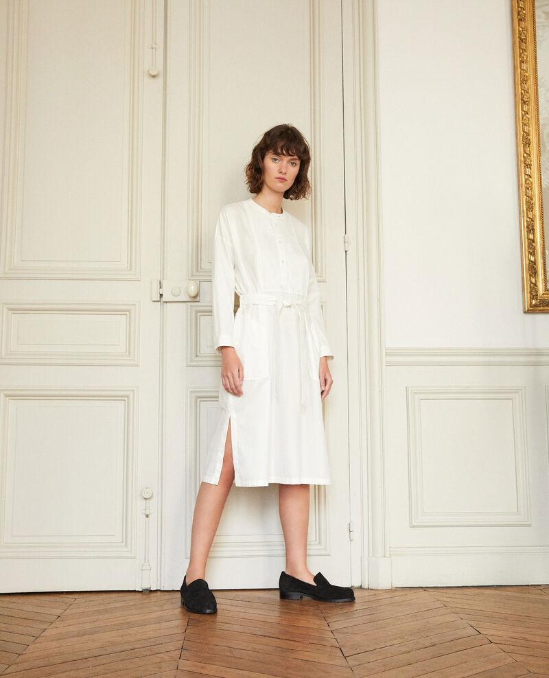 Dress with bib Off white Gerrone
