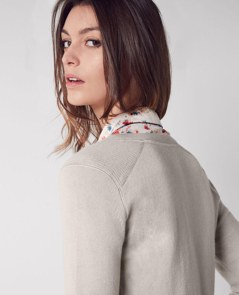 Cashmere jumper Tourterelle Chica
