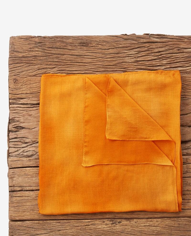 Transparent scarf Curcuma Deja
