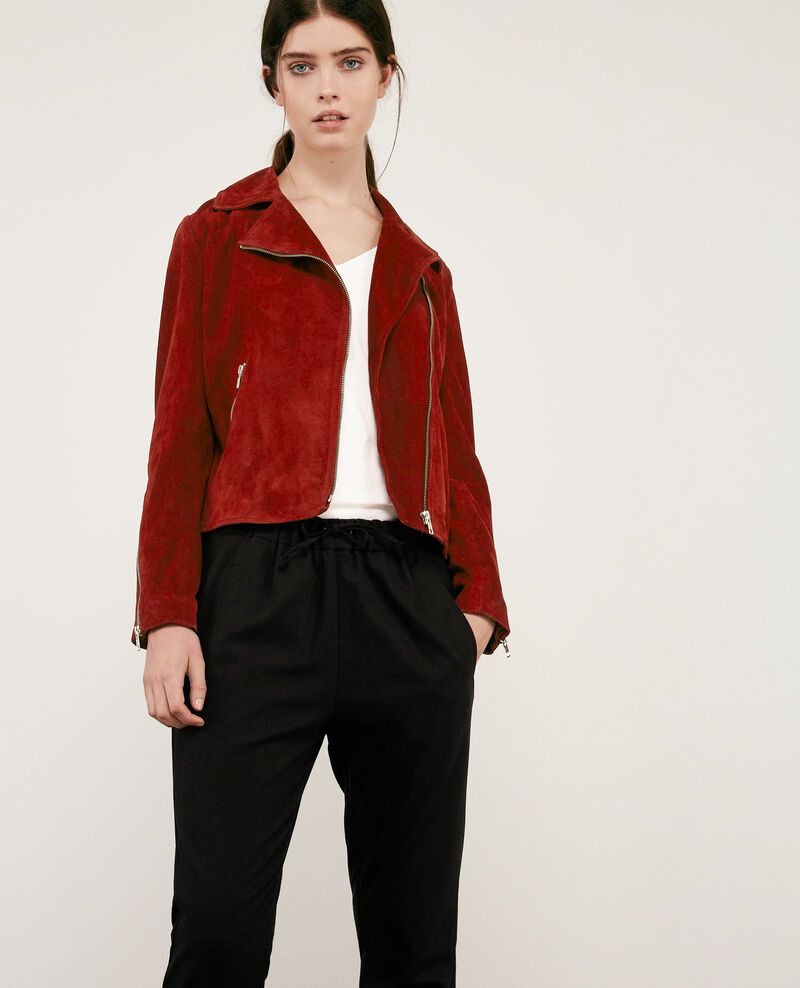 Suede leather jacket Devil 9decane