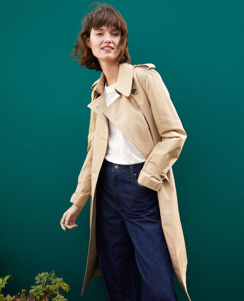 Mid-length trench coat Brown Gabien