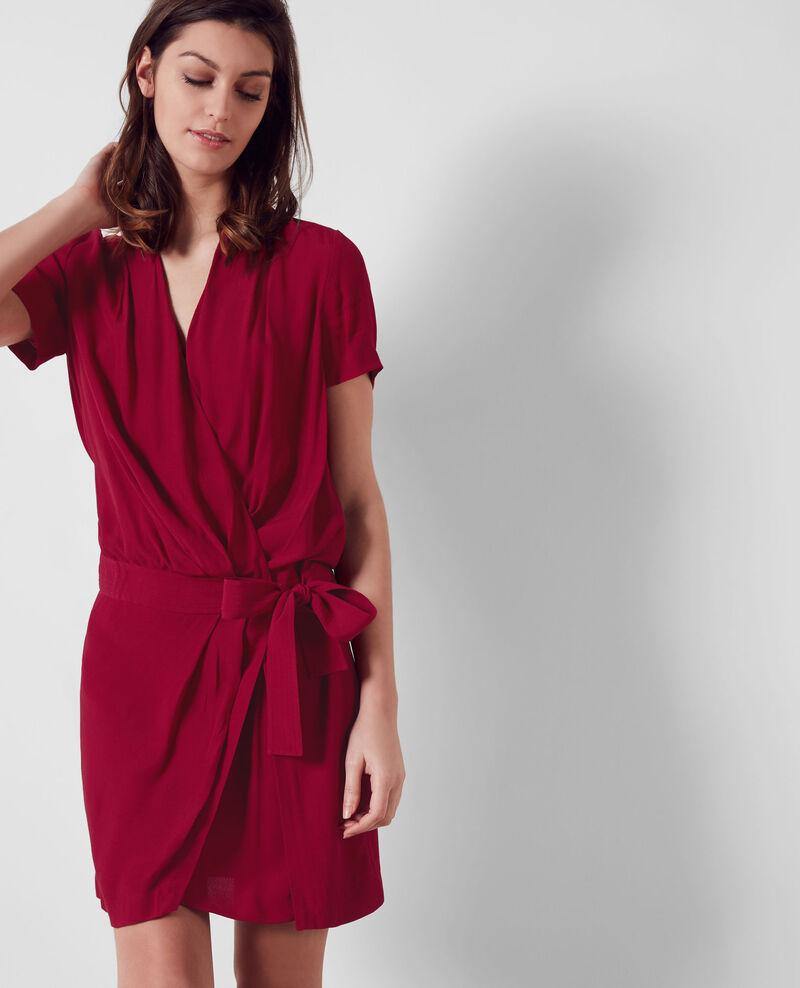 Wraparound dress Crimson Cifeel