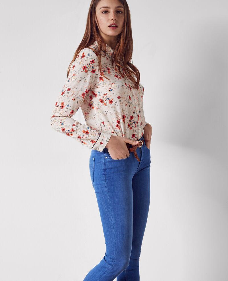 Ma demoiselle slim-fit jeans Cristal blue Cibou