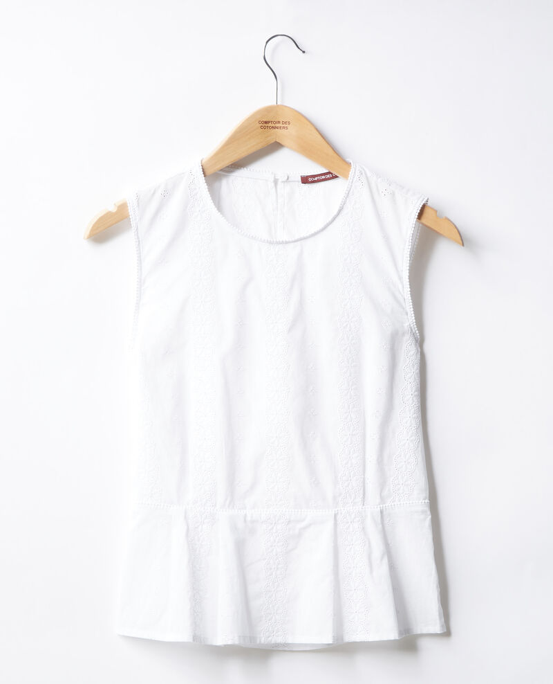 Embroidered blouse Blanc Fanape
